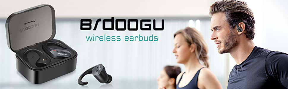 True wireless bluetooth headphones specially designed for sports enthusiasts
