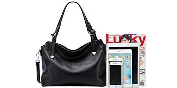 Large SOFT Leather Handbag
