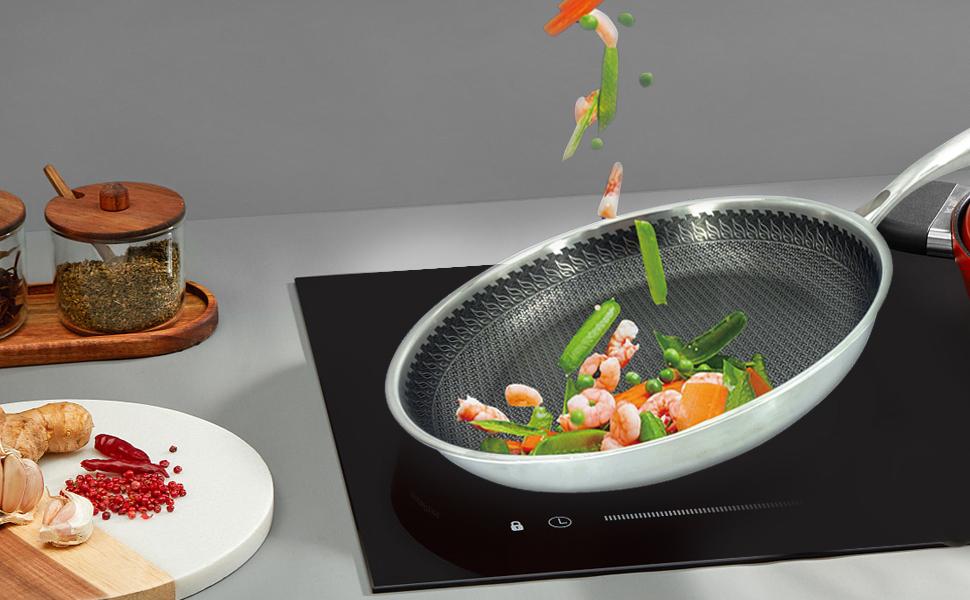 frying pan for frying