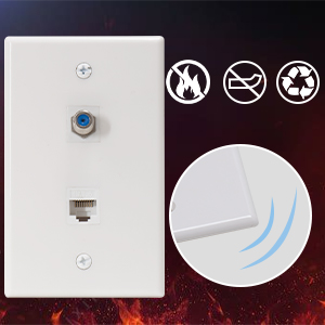 tv wall plate