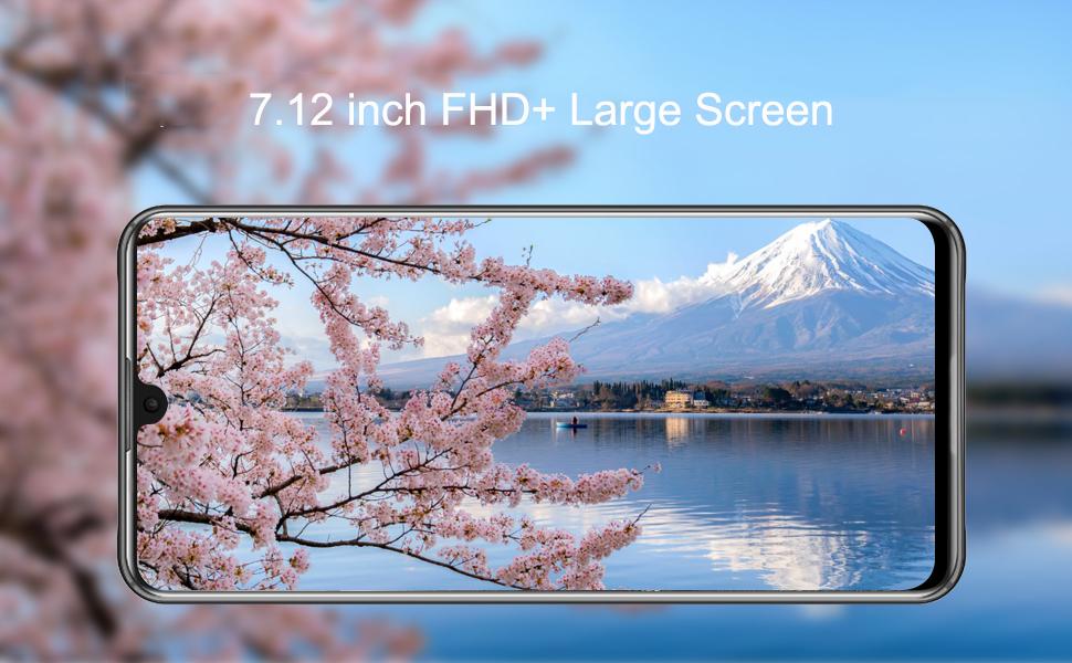 7.12 inch large screen sim free mobile phones
