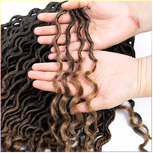 faux locs crochet hair