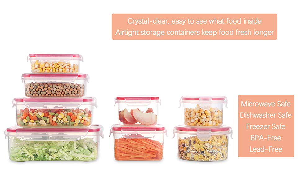 food storage container set of 8