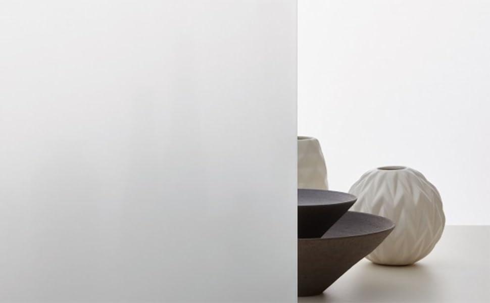 AOKKR Vinilo para Cristal Ventana, vinilos Decorativos Privacidad Pegatina Translúcida Adhesiva Decorativa del Vidrio Autoadhesiva,sin Dejar residuos, ...