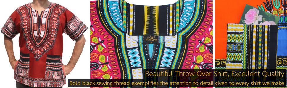 Handmade African Shirts