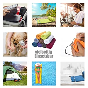 kompakt und kleine hantücher reisehandtuch sporttuch sporthandtuch und mikrofaser handtuch
