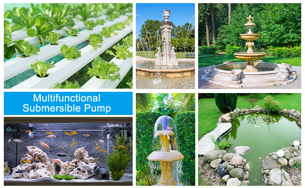 aquarium pump submersible pump water pump fountain pump pond pump fish tank pump
