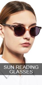 OCCI CHIARI Fashion Reading Glasses Reader Eyewear with Spring Hinge 1.0 1.25 to 6.0 Women Designer