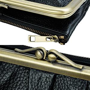 RFID Blocking long clutch wallet