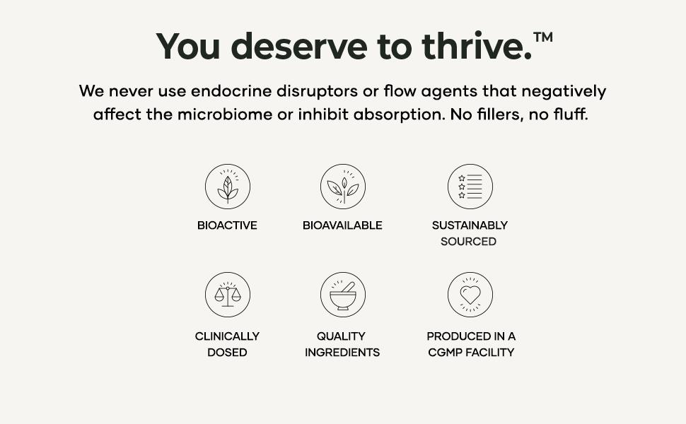 You deserve to thrive TESTRO-X