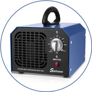 Generador de Ozono 6000 mg/ h Purificador Ozono de Aire Profesional con Temporizador de 180 min para Eliminaciónn de Olor y Desinfección: Amazon.es: Hogar