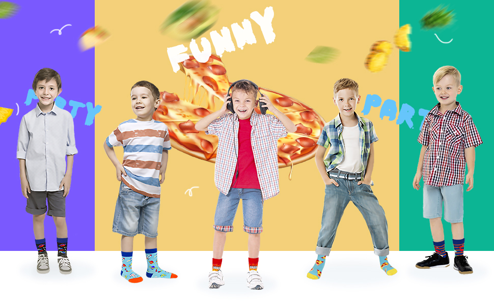 Food socks kids