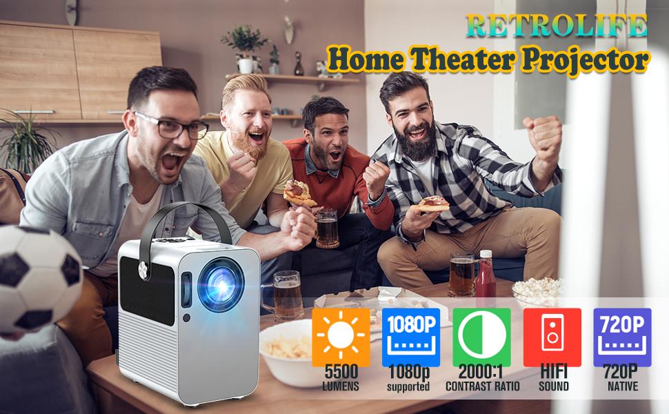 Retrolife projector