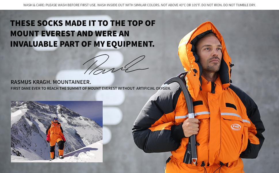 Rasmus Kragh mountaineer