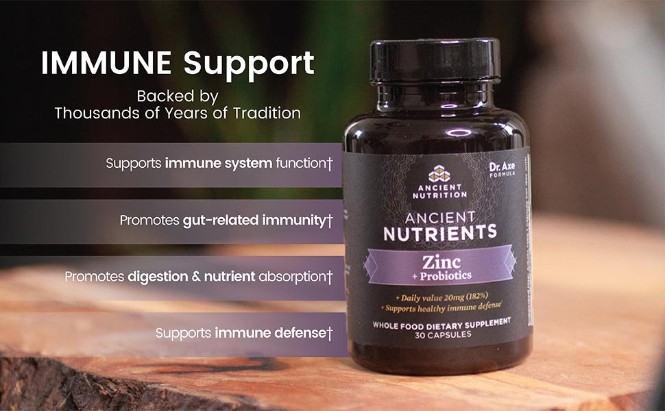 Zinc + Probiotics