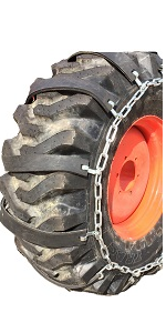 TireChain.com 20 X 8 X 8 20 8 8 Heavy Duty Tractor Tire Chains Set of 2