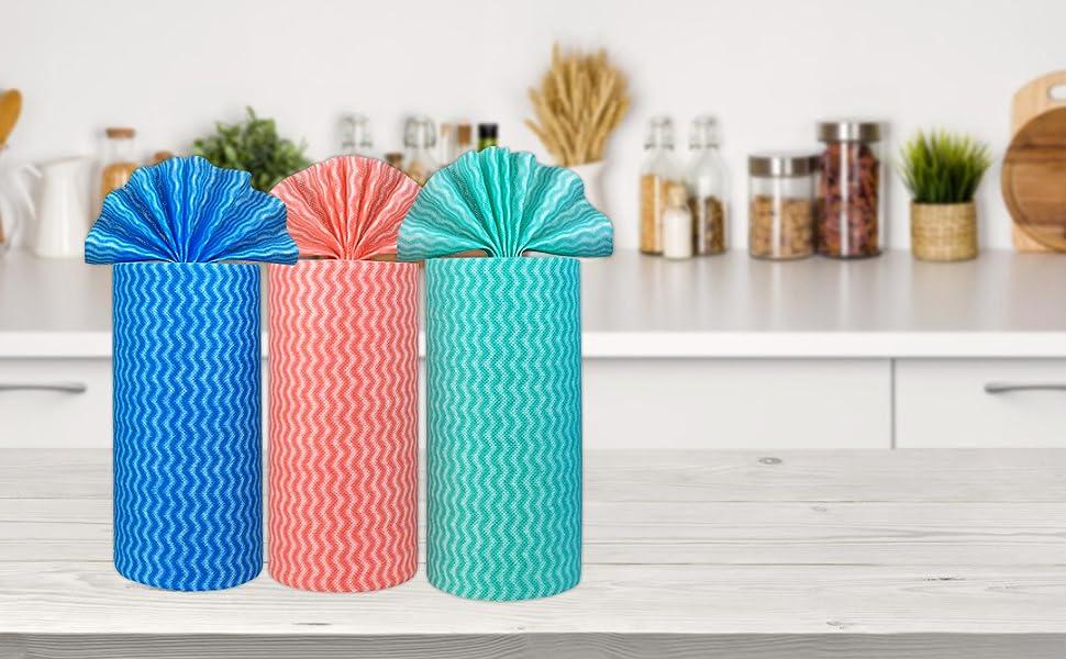 paper towel rolls