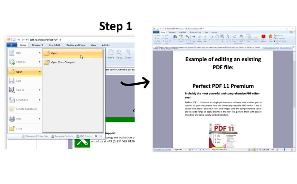 pdf and convert PDF files