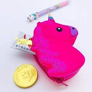 伊豆シャボテン本舗 ユニコーングッズ 3点セット ぬいぐるみ/コインケース/ボールペン おしゃれ雑貨