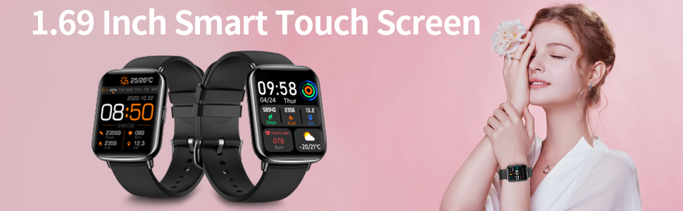 1.69 inch smart touch screen