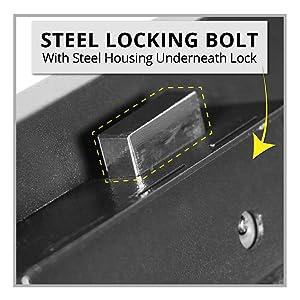 Stealth Portable Handgun Safe Thick Locking Bolt
