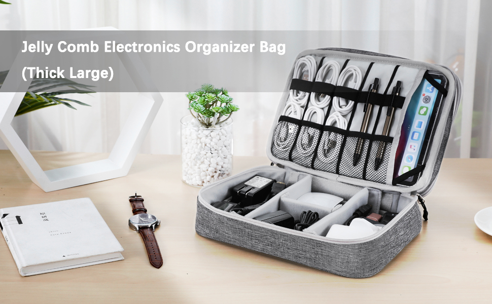 jelly comb electronics organizer