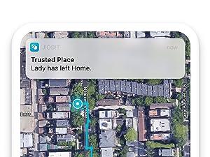 Jiobit Smart Geofence Notifications GPS Tracking App