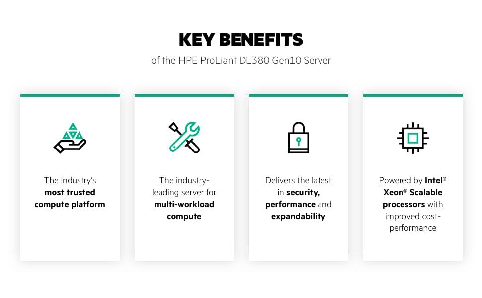 DL380 Gen10 Server - Key Benefits