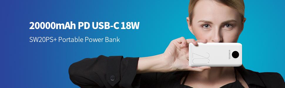 SW20 PD powerbank usb c banner