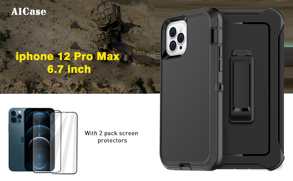 iphone 12 pro max otterbox defender iphone 12 pro max otterbox screen protector