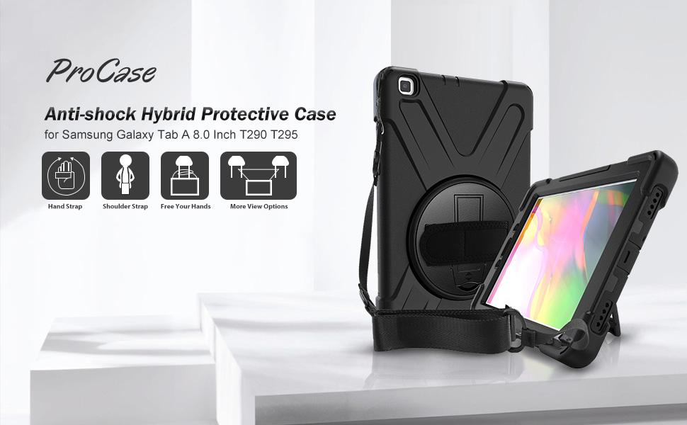 Procase Hülle Galaxy Tab A 8 0 Zoll 2019 Mit Computer Zubehör
