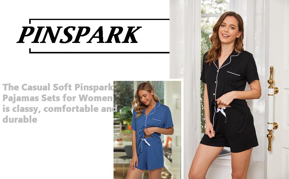 womens plus size short sleeve sleepwear set