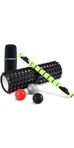 TOMSHOO 5-in-1 Fitness Workout Set - AB Wheel Roller Addominali +2 Maniglie per Flessioni + Corda per Saltare + Pinza… f207f7f6 918b 4750 a0db fa58c8cb27c3. CR0,0,150,300 PT0 SX150 V1