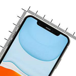 Kinoto for iPhone 11 iPhone XR Tempered Glass Screen Protector Protectors Film Cover Case 9H Clear