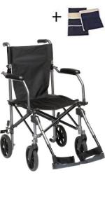Transport Wheelchair Lightweight Folding