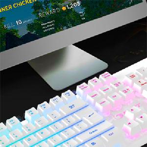 26 Anti-ghosting keys gaming keyboard