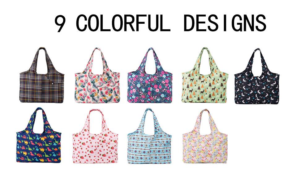 colorful designs everydays bag