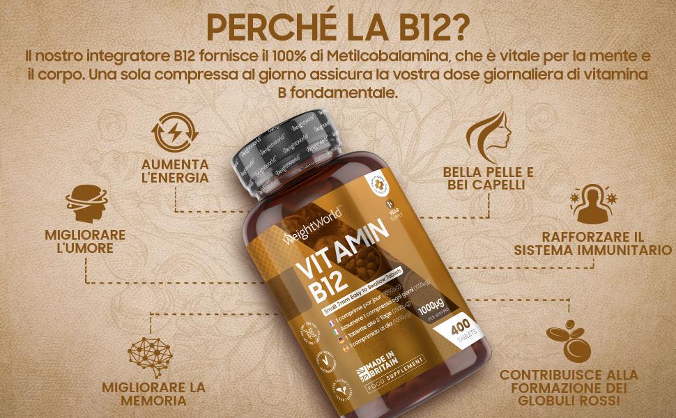 vitamina b12 integratori