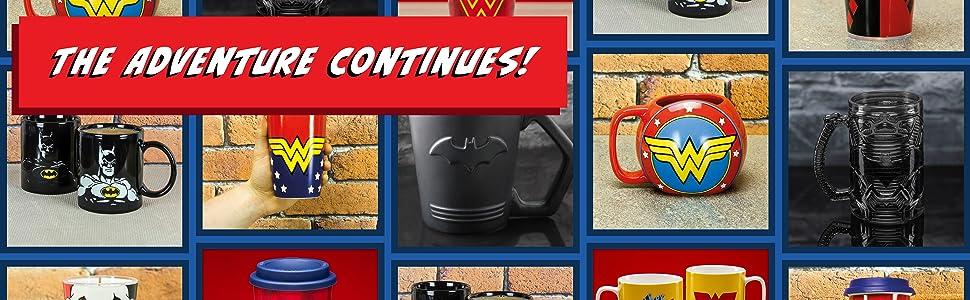 DC Mugs & Glasses Product Grid