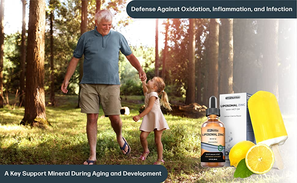 Defense against oxidation, inflammation & infection.A key support mineral during aging & development