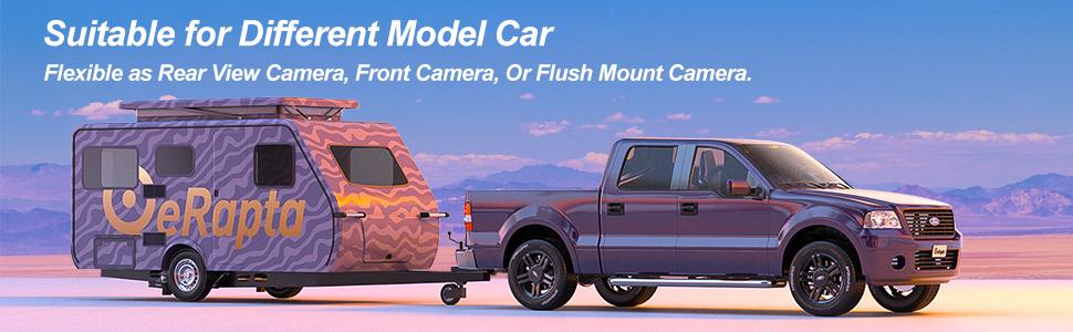 Ideal backup camera for Pickup/Truck/SUV/ Van/Trailer/ Sedan/Minivan