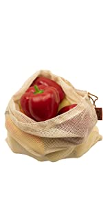 teusable produce bags