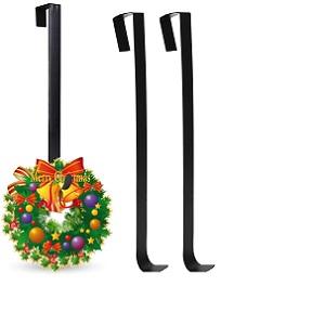 Deer decoraci/ón de Hierro Pesado para Perro Escalera hfurehf Suministros para decoraci/ón de Fiesta Colgador de Navidad con Ganchos Grandes Calcetines de Navidad