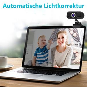 Webcam con micrófono para PC