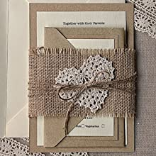 "LaRibbons 3"" Wide Burlap Fabric Craft Ribbon"