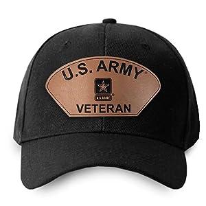 Black star baseball logo US Army leather patch Star Logo veteran patriotic honor duty gift airborne