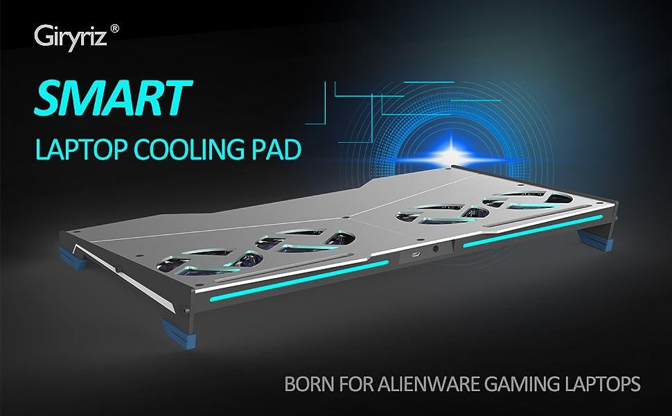 Amazon Com Giryriz Smart Laptop Cooler Cooling Pad For Alienware