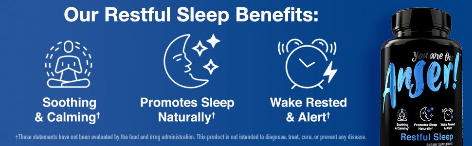 Anser Healhty Sleep Benefits