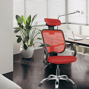 ErgonomiqueOreiller Pivotante en RéglableFauteuil Chaise pour Chaise RéglableSupport Bureau OrdinateurHauteur Fauteuil femor MailleSiège NOvn0y8mw