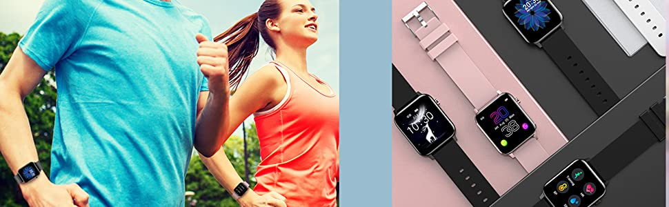 Heart Rate Monitor Smart Watches for Men Women